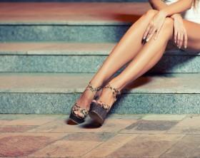 Dünne Beine